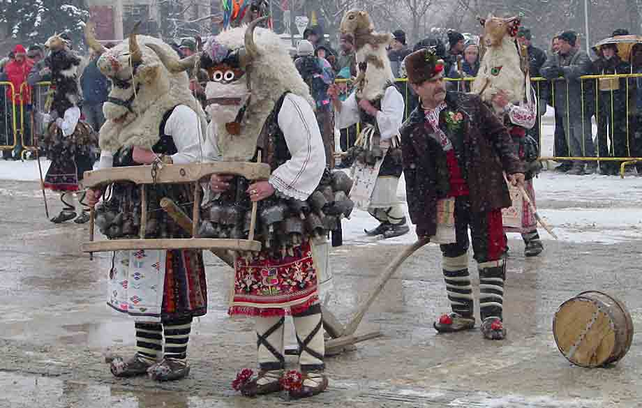 Surva Folk Holiday - Bulgarian Treasure in the UNESCO Representative List of the Intangible Cultural Heritage of Humanity