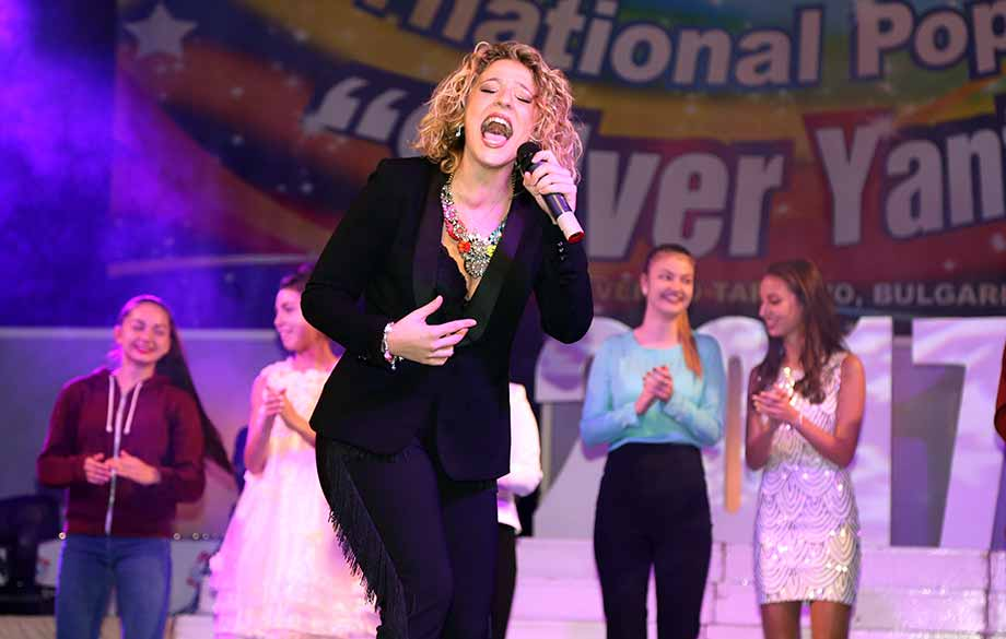 "The 15th International Pop Music Contest for Young Singers ""Silver Yantra"" in Veliko Tarnovo came to its end."