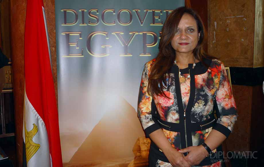 Interview  with H. E. Mrs. Manal Yehia El Shinnawi, Extraordinary and Plenipotentiary Ambassador of the Arab Republic of Egypt