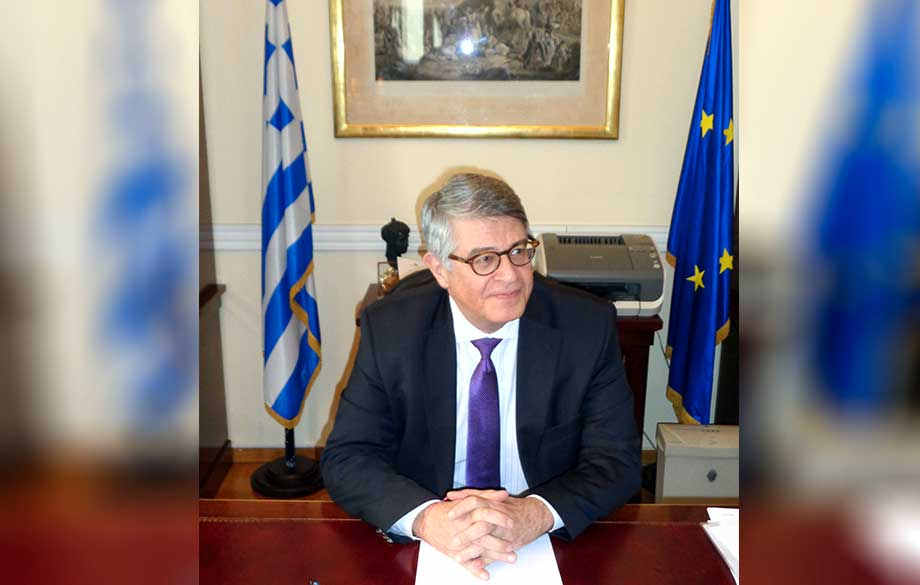 Interview with H. E. Mr. Grigorios Vasilokonstandakis, Ambassador Extraordinary and Plenipotentiary of the Hellenic Republic in Bulgaria