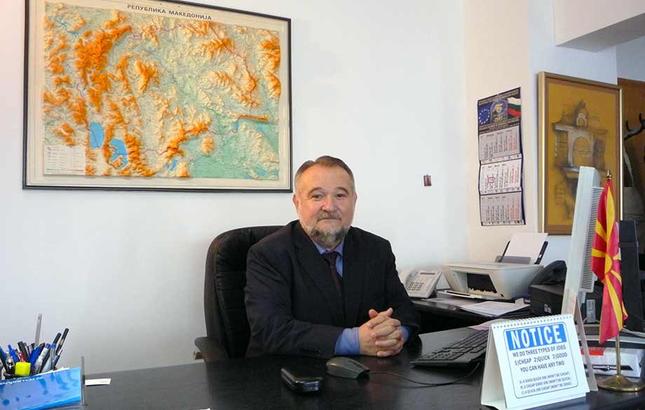 Interview with H. E. Mr. Maryan Gjorcev, Ambassador Extraordinary and Plenipotentiary of the Republic of Macedonia in Bulgaria