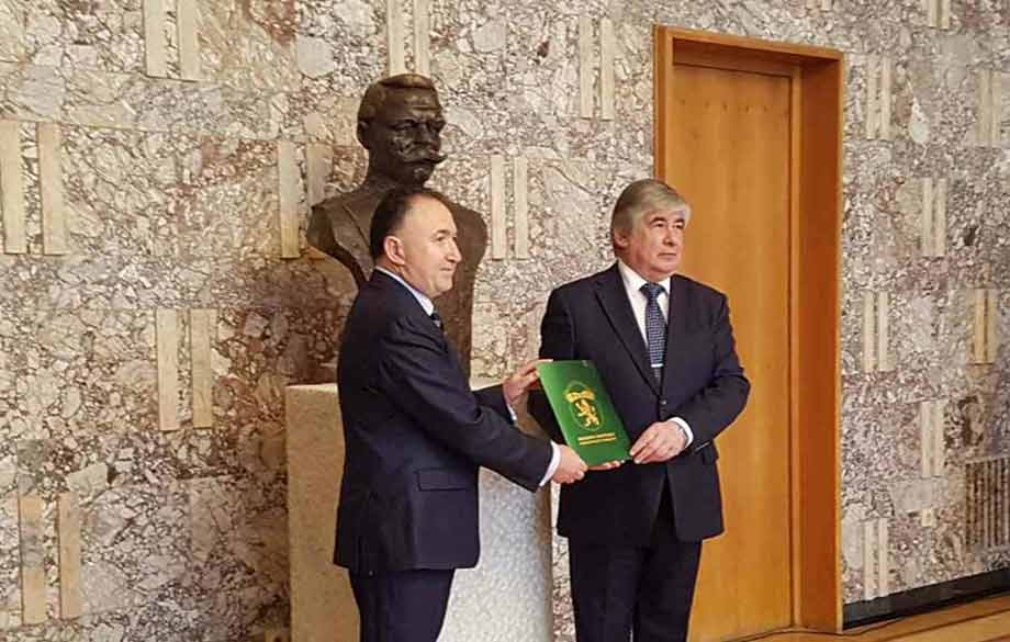 Karlovo Donated Russia a Bust to the Legendary Stoletov