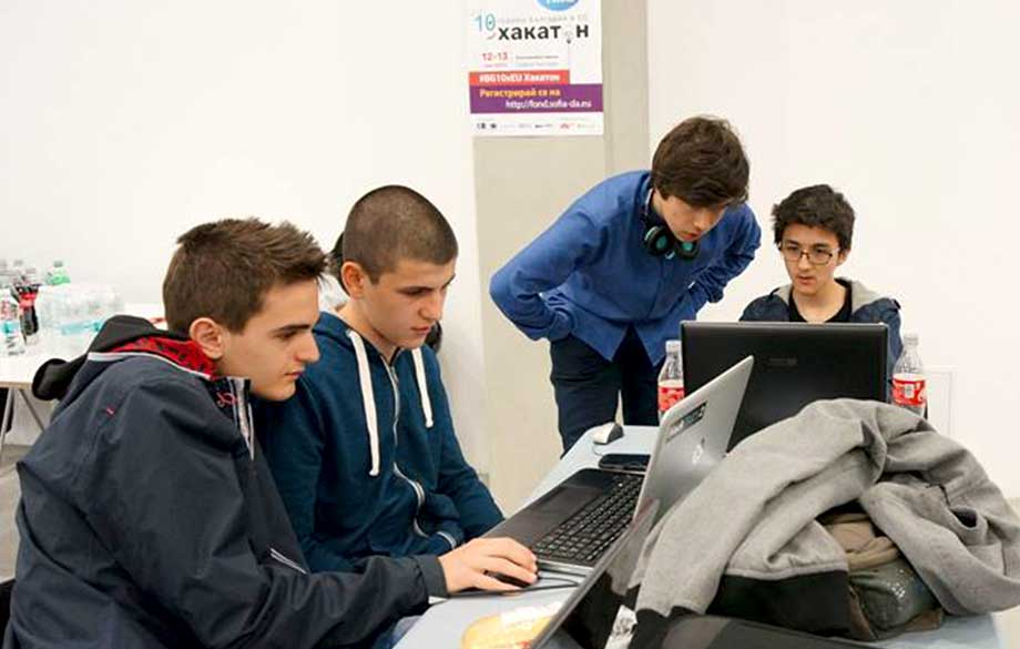 #BG10xEU Hackathon took place at the Sofia ScienceFestival