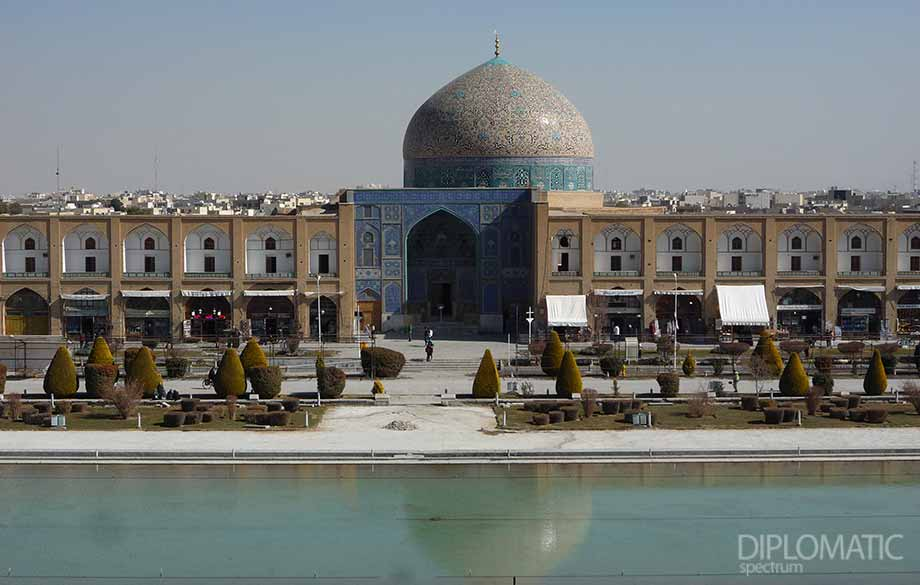 Touches from Modern Iran. Isfahan is Half of the World