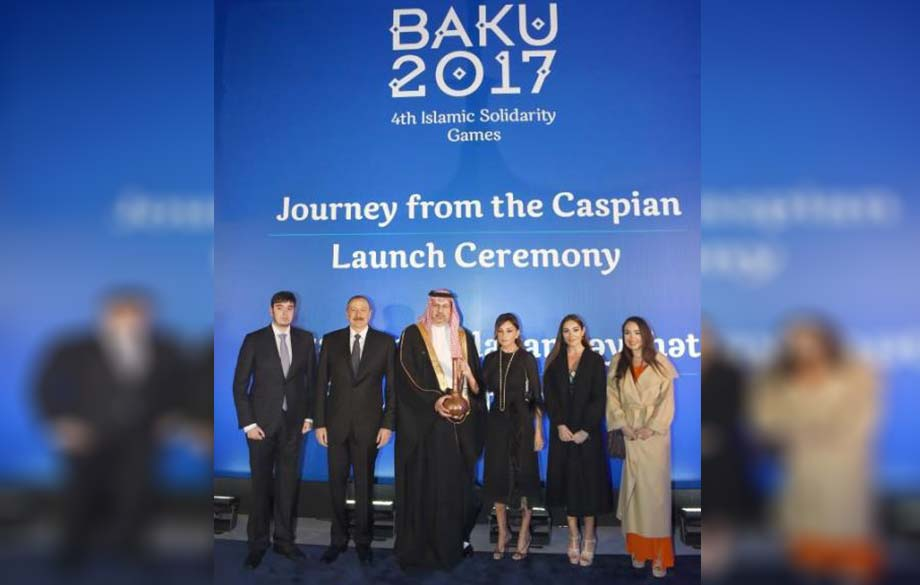 The 4th Islamic Solidarity Games Kick off in Baku