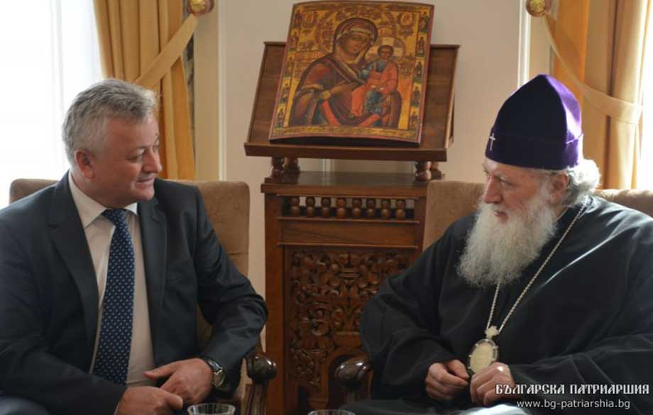 The Moldovan Ambassador Visited His Holiness Patriarch Neophyte