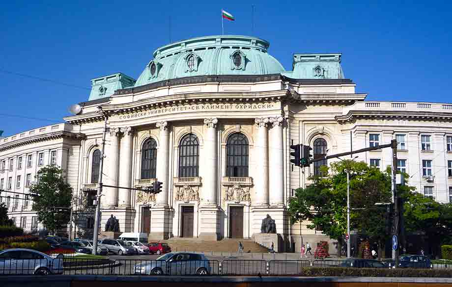 "Foreign Students Admission at the Sofia University ""St. Kliment Ohridski """