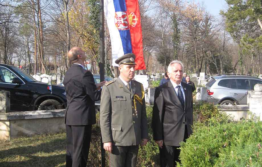 The Serbian Embassy Marked the Rememberance Day and 100 Years Since the End of World War I