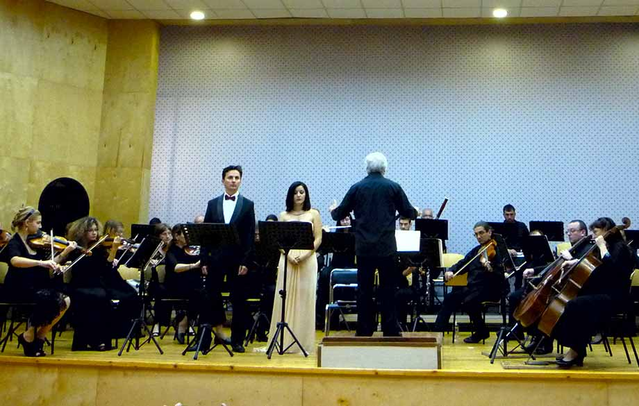 "Concert of ""Sinfonietta Sofia"" under the Patronage of the Palestinian Ambassador"