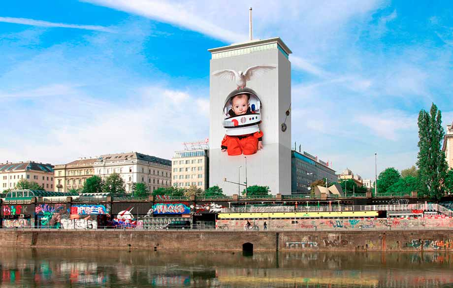 A Bulgarian Wrapped an Emblematic Building in the Center of Vienna