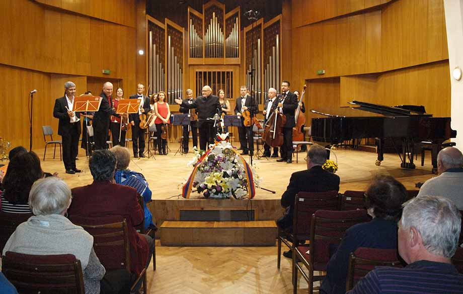 The Autumn Cycle of AGBU Sofia Chamber Orchestra was Opened