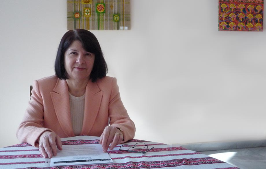 Interview with Mrs. Penka Baltazhi, Wife of the Ambassador Extraordinary and Plenipotentiary of Ukraine to the Republic of Bulgaria