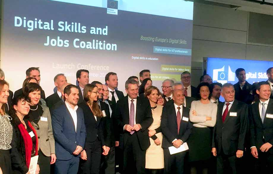 The Digital Skills and Jobs Coalition Begins