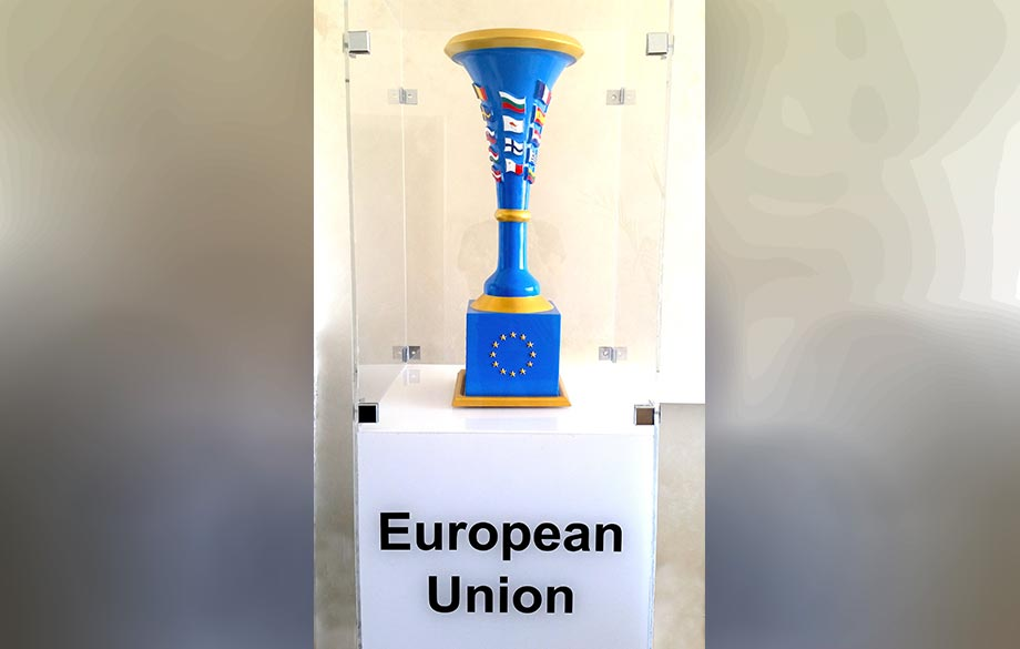 """Europe Vase"" Contemporary Art Installation has been Unveiled in Plovdiv"