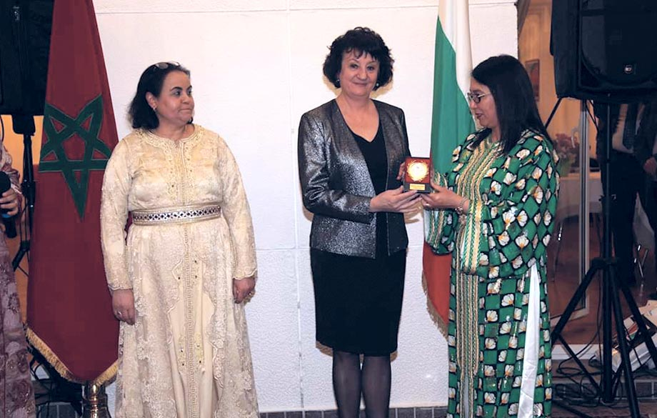 The first Cultural Diplomatic Salon, organized by the Council of Moroccan Women of the World, was held in Sofia