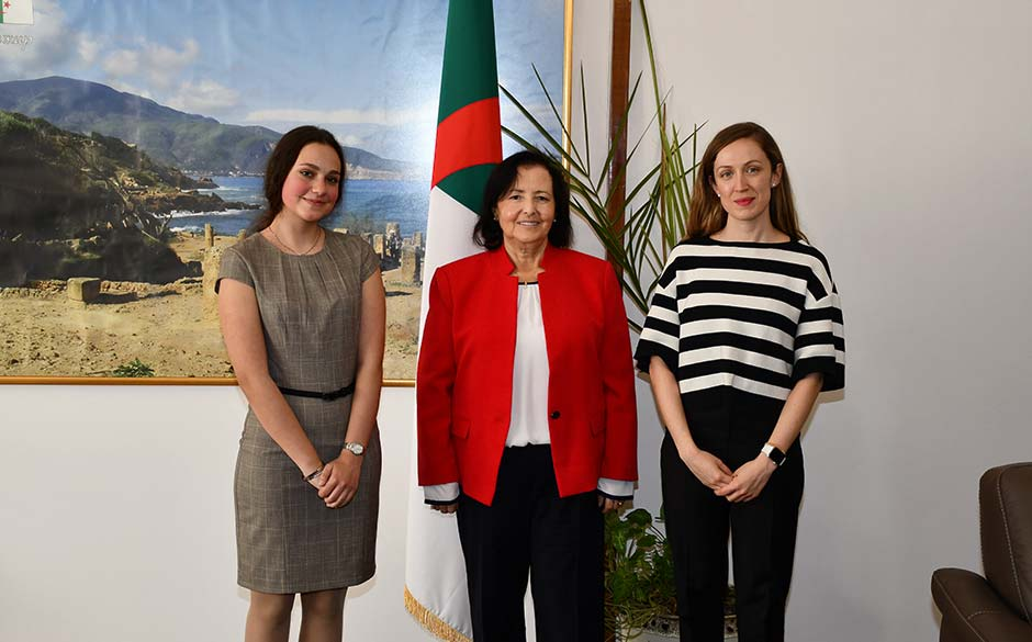 Participation of the Ambassador of Algeria in the Ambassador for a Day Initiative